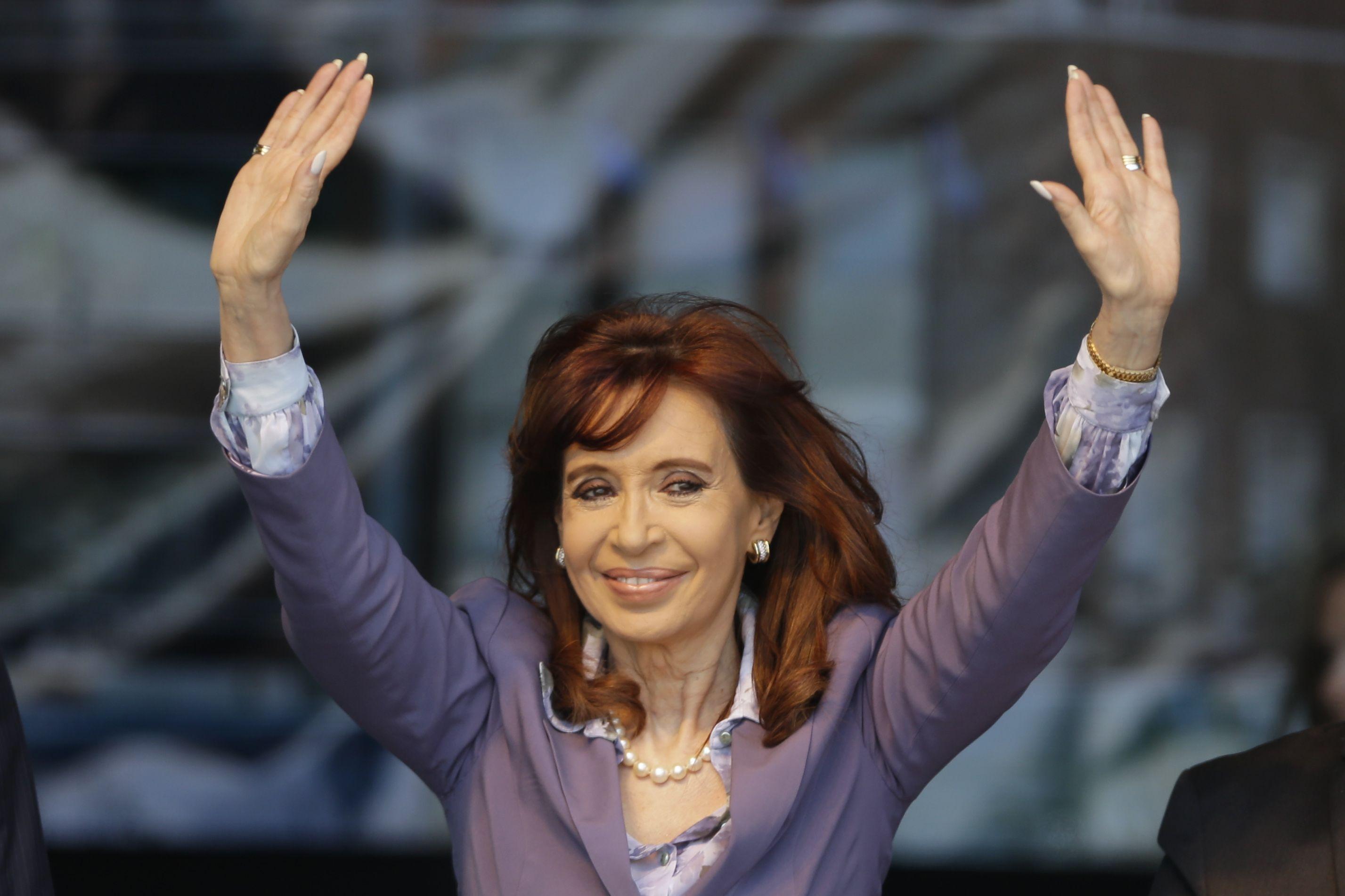 La presidenta será despedida por la agrupación kirchnerista.