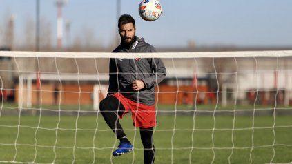 Hay capitán. Ignacio Scocco llevará la cinta esta tarde. El goleador espera dar vuelta la página después del mal semestre.