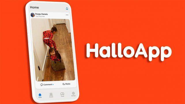 HalloApp tiene una interfaz muy simple.