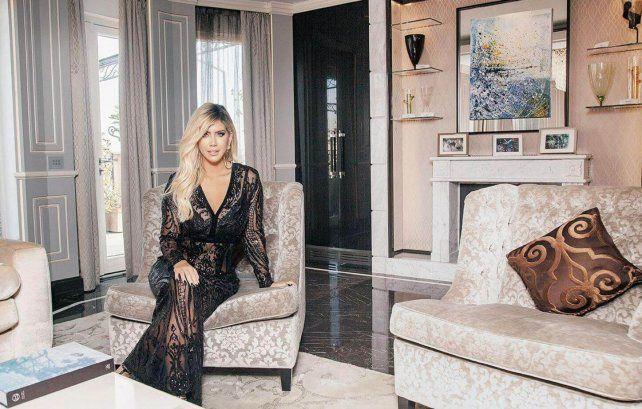Icardi se mudó con su familia a París y Wanda mostró la mansión