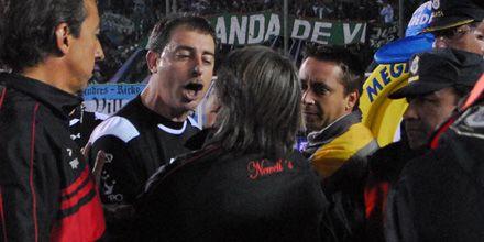Nos robaron, dijo Lorente al criticar al árbitro del partido ante Banfield