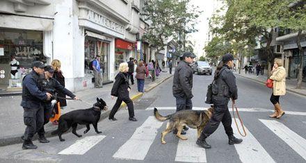Los comerciantes del centro sienten pánico por la creciente ola de robos