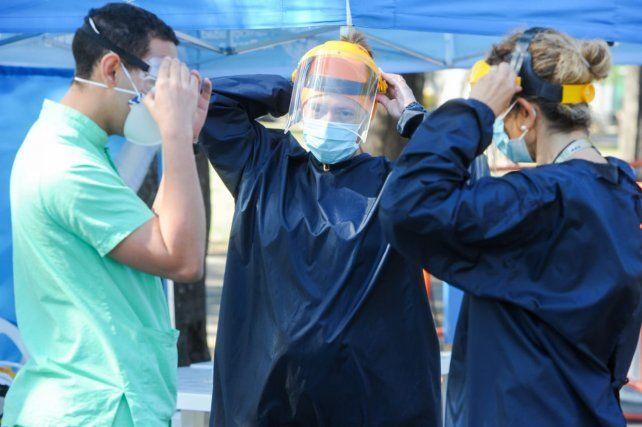 Hubo veinte nuevos fallecimientos en la provincia por coronavirus, nueve de ellos en Rosario