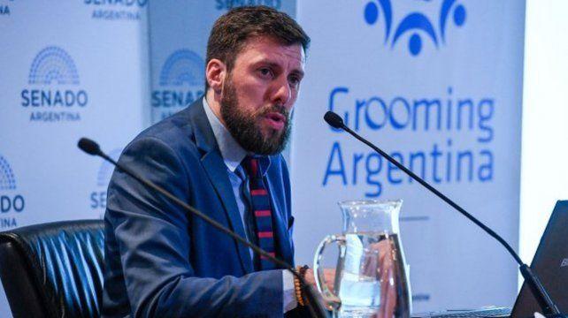 El referente de la ONG Grooming Argentina