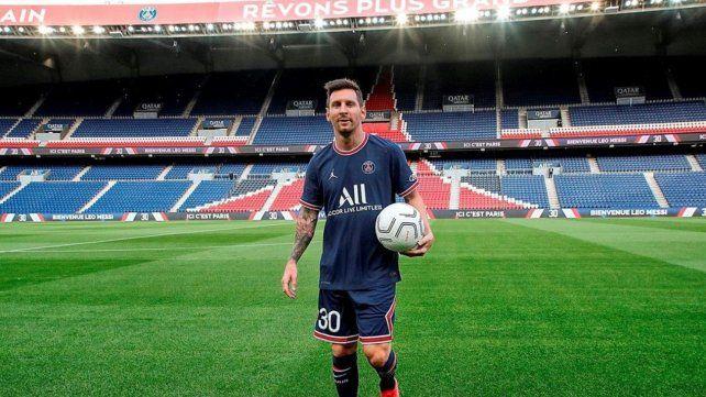 Ya está a la venta la camiseta que Messi usará en el PSG: a qué precio se consigue
