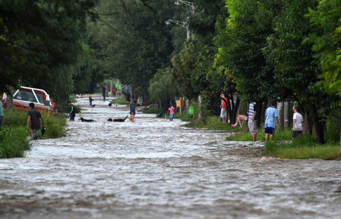 Sanford y Chabás fueron las localidades más castigadas por las inundaciones. (Foto de archivo)