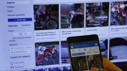 La bicicleta robada el viernes fue expuesta en la red social. (Imagen sólo de carácter ilustrativo)
