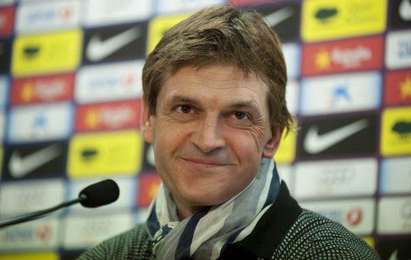 Tito Vailanova había hecho una extensa carrera como futbolista. Tenía 45 años.