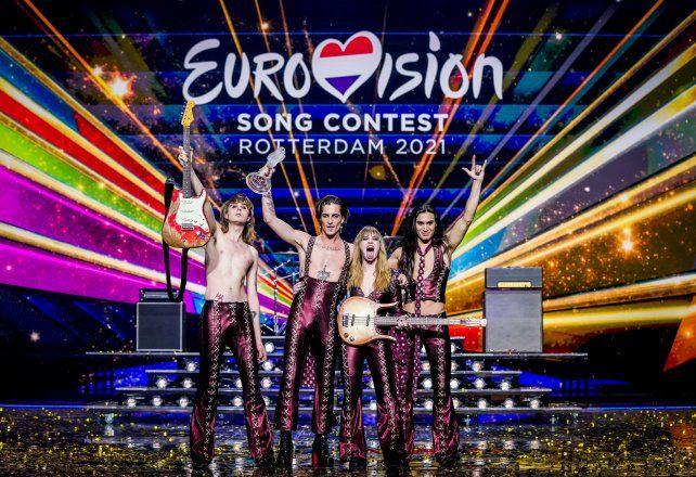 El grupo italiano Maneskin triunfó en el festival Eurovisión. Este año el tradicional evento tuvo un carácter especial, de retorno a la vida en el inicio del verano europeo.