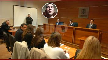 La audiencia realizada en los Tribunales acordando la pena.// FOTO: José Busiemi-UNO Santa Fe.