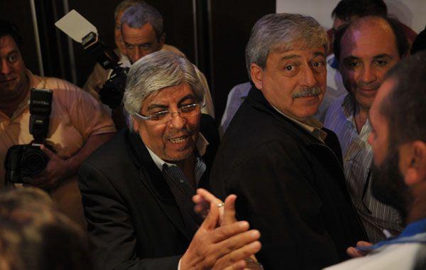 Obrero y campesino. Hugo Moyano y Eduardo Buzzi están abocados a construir una convergencia. El sindicalista confirmó que el 15 de agosto estará en la cena con que la FAA celebrará sus cien años.