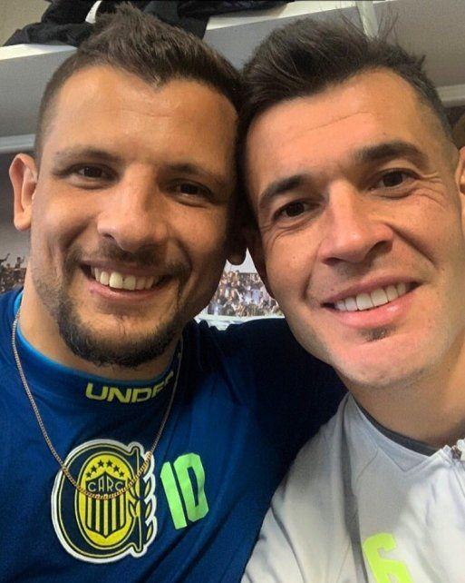 Vecchio y Caraglio se conocen desde muy chicos.
