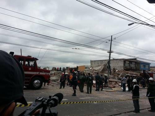 Al menos seis muertos al derrumbarse un edificio en construcción en San Pablo