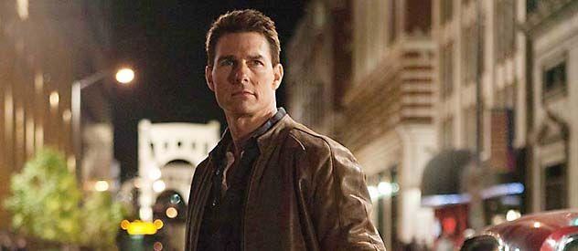 Duro de domar. Tom Cruise le presta su figura a este singular personaje creado por el inglés Lee Child.