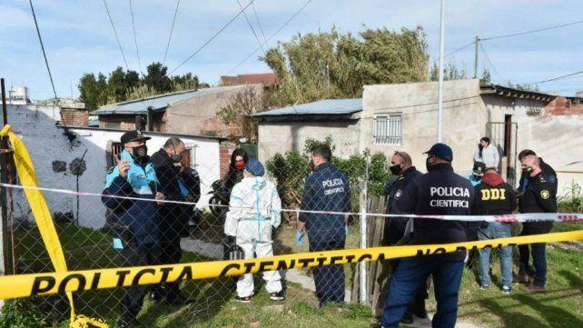 El doble crimen ocurrió en el barrio Villa Lourdes de Mar del Plata.