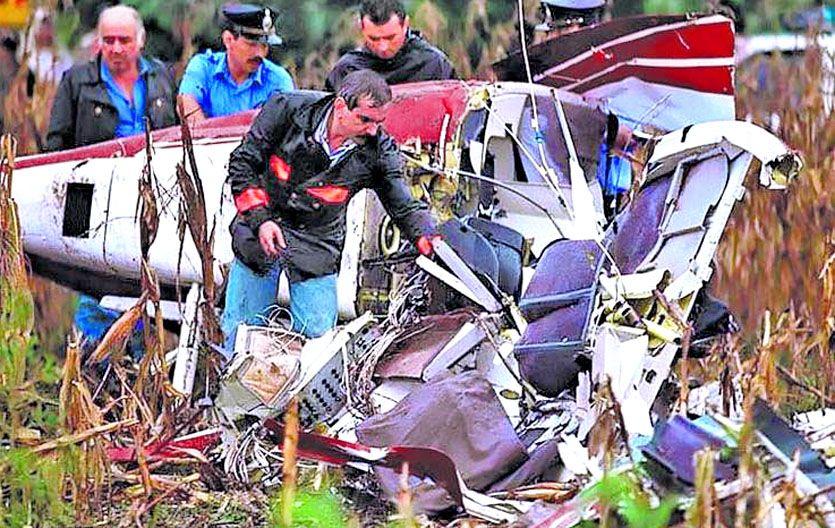 Tragedia. La muerte en 1995 del hijo del presidente Menem despertó en su momento todo tipo de especulaciones.