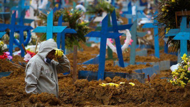 El gobierno de Brasil redujo 170 muertos de los números que enviaron los Estados