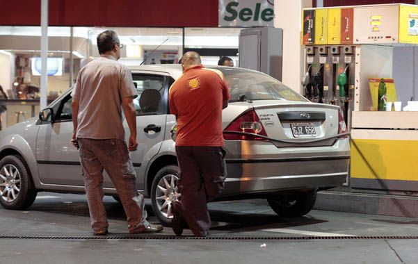 Nafta para arriba. El combustible fue uno de los rubros que más subió.
