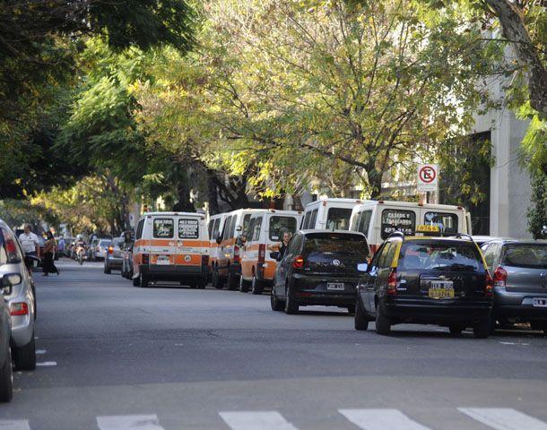Los transportistas hacen un balance positivo de la prohibición de la doble fila. (Foto: C. Mutti Lovera)