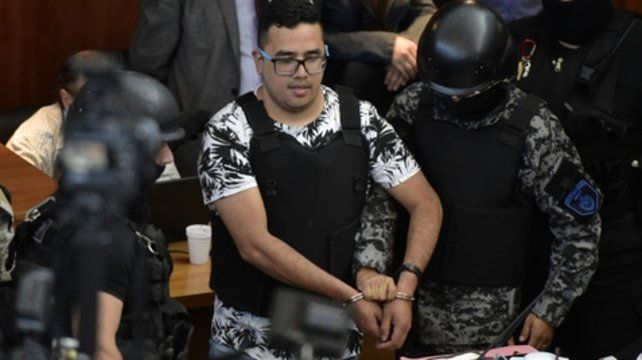Por video. Cantero fue parte de la audiencia desde la cárcel de Marcos Paz.
