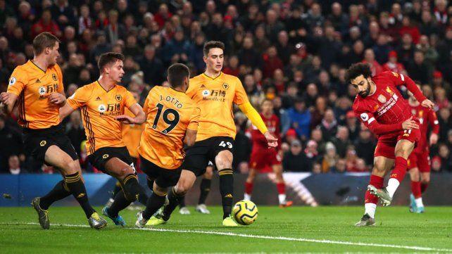 Liverpool sólo sabe ganar