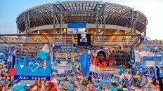 El estadio de Napoli ya se llama Diego Armando Maradona