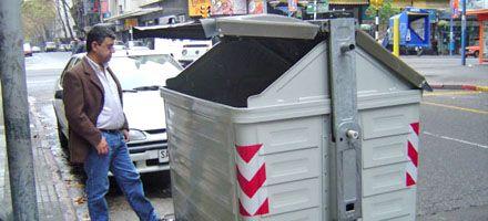 El nuevo plan de higiene urbana duplica la cantidad de contenedores