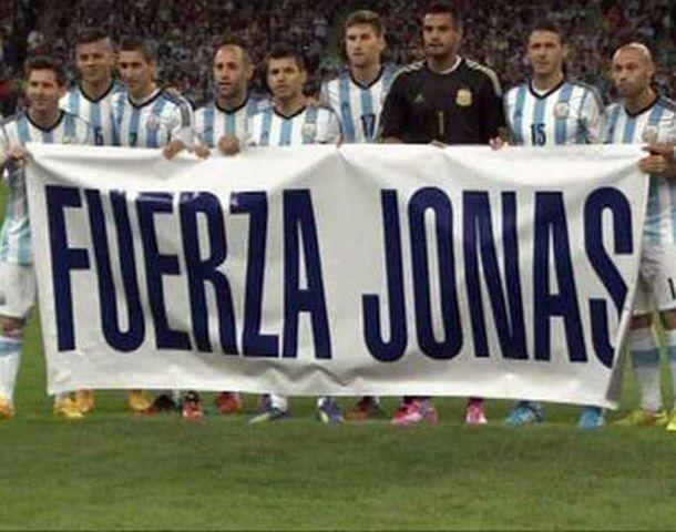 Fuerza Jonás fue la leyenda que exhibieron los jugadores.