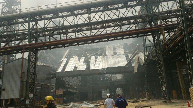Medida de fuerza. Aceiteros y la CGT San Lorenzo paran por 48 horas tras la explosión fatal.