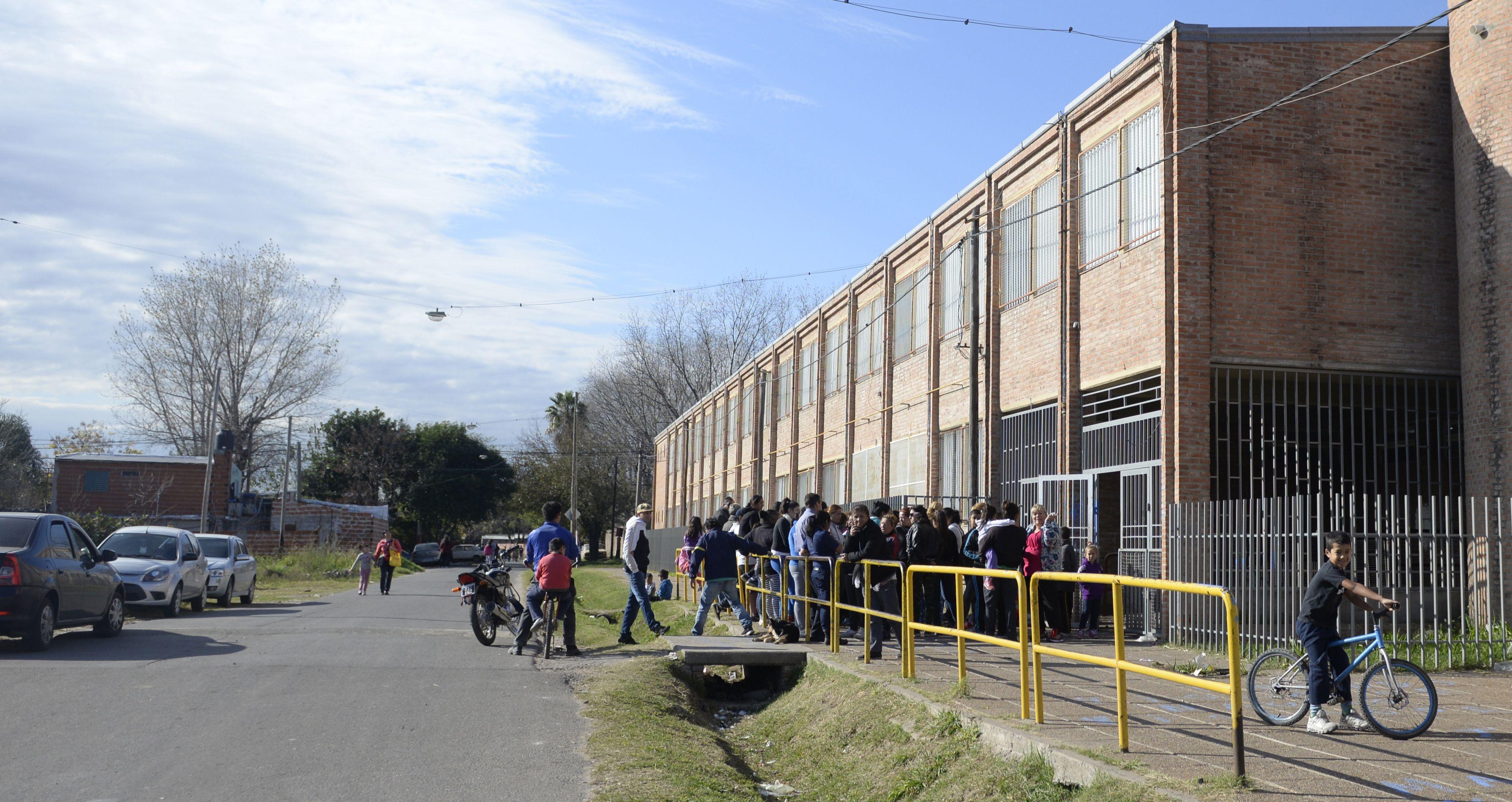 vuelta al cole. La escuela de Saavedra al 6100 reabrió sus puertas.
