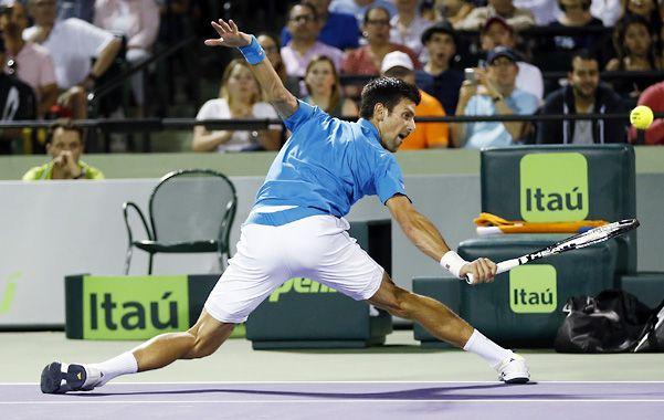 El nº 1. Djokovic es el favorito y lidera el historial frente a Nishikori por 6-2.