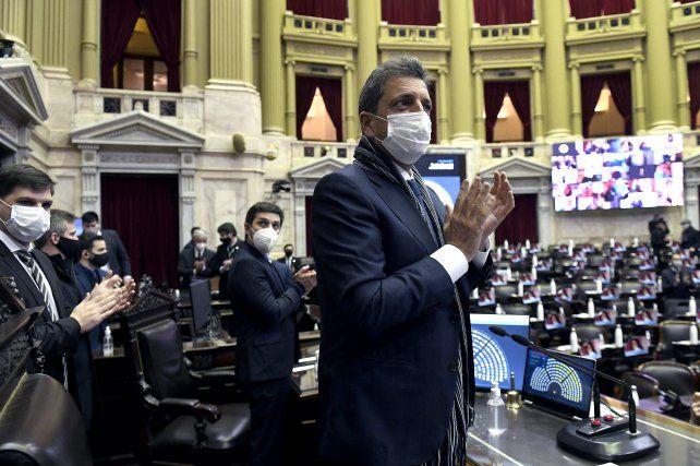 El titular de la Cámara de Diputados