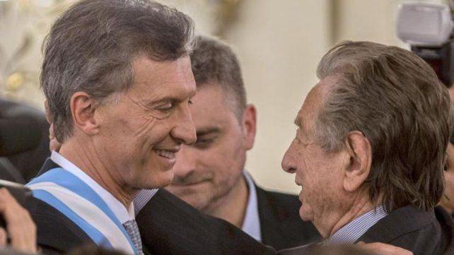 Macri: Mi padre me pidió varias veces que me haga cargo de matarlo