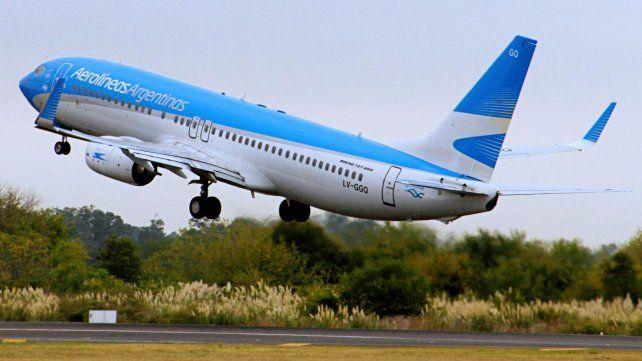 Aerolíneas Argentinas anunció la oferta de vuelos de cabotaje