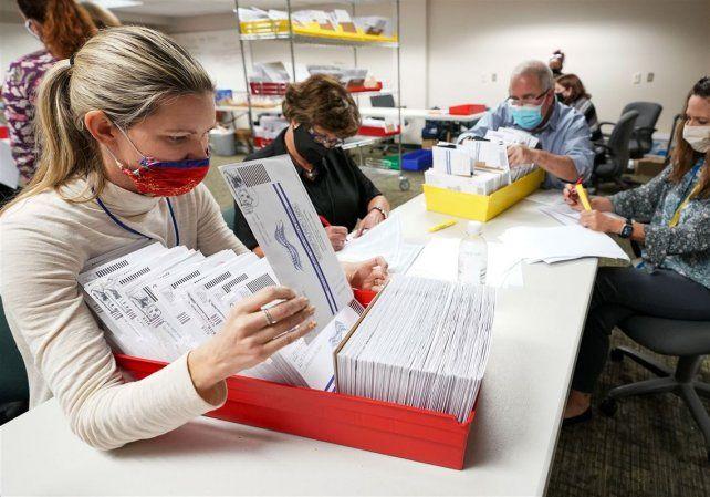 El escrutinio del voto en Pensivlania fue puesto en duda por Trump