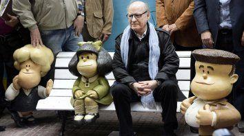 Joaquín Salvador Lavado, más conocido como Quino, falleció a los 88 años. Fue el creador de Mafalda.