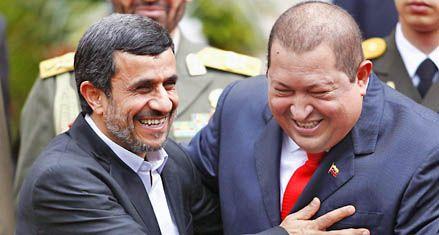 Chávez y Ahmadineyad lanzan sus dardos contra el imperialismo
