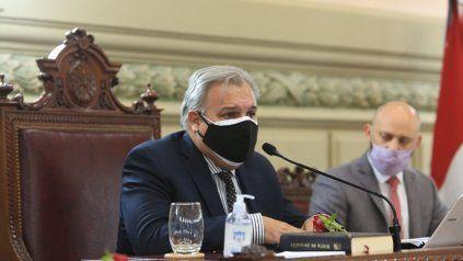 El flamante presidente de la Cámara de Diputados, Pablo Farías.