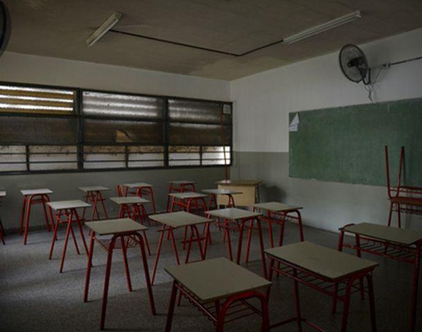 Las aulas estarán vacías en Santa Fe entre el 13 y el 24 de julio. (Foto: C. Mutti Lovera)