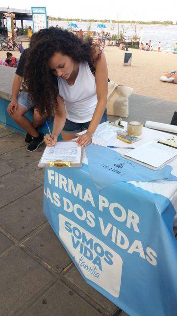 Lanzaron una campaña en repudio a la adhesión del protocolo de aborto