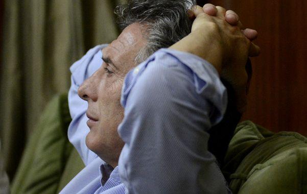 Reposo. Mauricio Macri se siente más cómodo con el FAU que con el PJ.