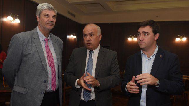 Los jueces Marcelo Escola y Marcelo Molina