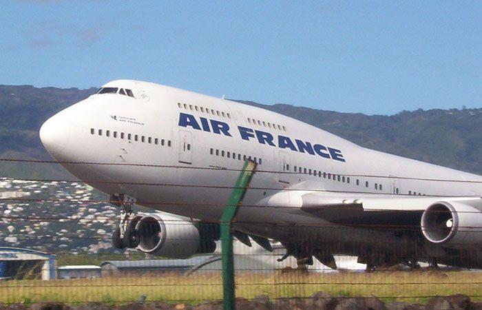 El servicio de prensa de Air France confirmó la información