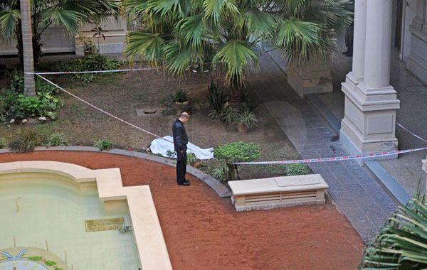 El hecho ocurrió cerca del mediodía cuando agentes provinciales encontraron el cuerpo. (Foto: diario Uno de Santa Fe)