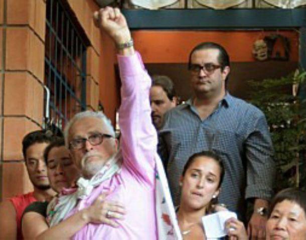 Preso político. José Genoíno dijo serlo poco antes de entrar a la cárcel.