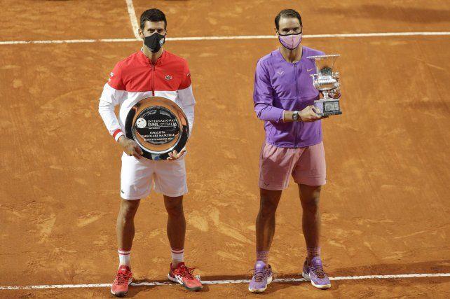 Nadal venció a Djokovic en tres sets y se coronó en el Masters 1000 de Roma