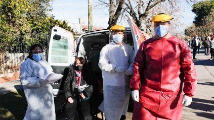 Testeos. En San Lorenzo fueron clave para bajar la transitabilidad del virus.