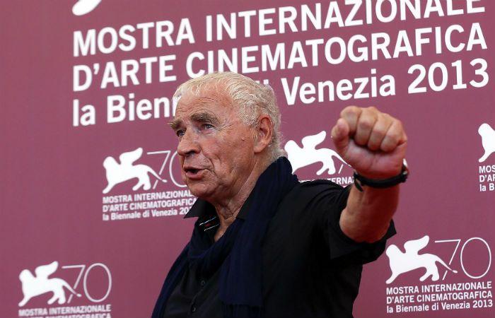 De festival. Wajda presentó su última película en 2013 en Venecia.