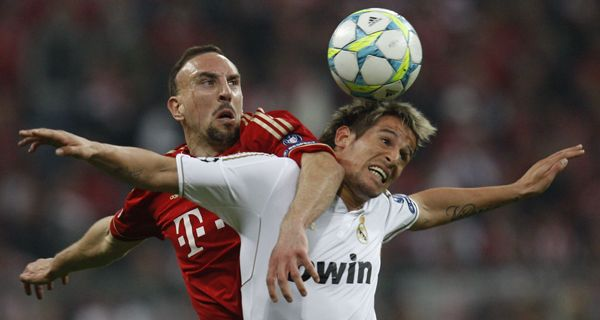 Con un gol sobre el final, Bayern Munich le ganó a Real Madrid en la ida de una de las semifinales