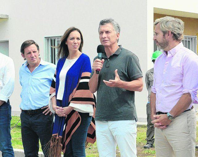 Procrear. El presidente Macri en el relanzamiento del programa.